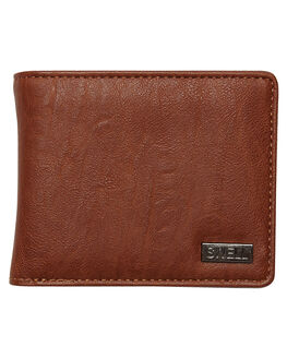 DARK TAN MENS ACCESSORIES SWELL WALLETS - SW-AW-001DTAN