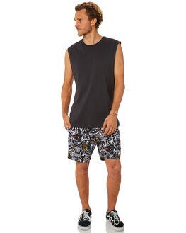 BLACK WHITE MENS CLOTHING BILLABONG BOARDSHORTS - 9581432BKWH