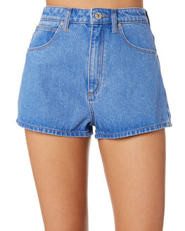STRAIGHT UP WOMENS CLOTHING A.BRAND SHORTS - 716901384
