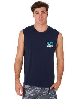 BLUE NIGHTS MENS CLOTHING RUSTY SINGLETS - MSM0265BNI