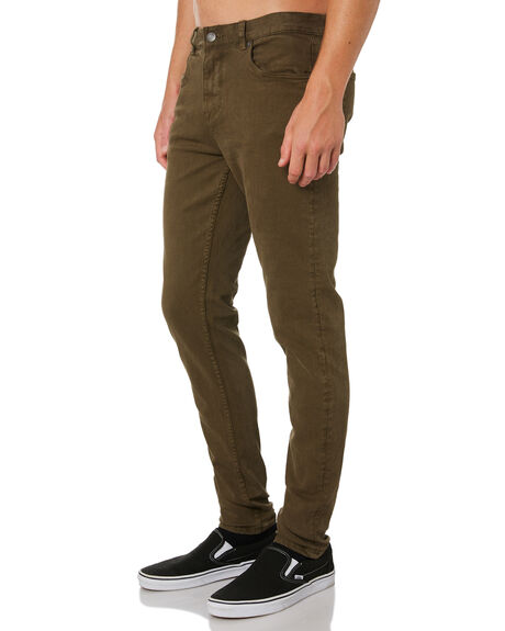 KHAKI MENS CLOTHING ACADEMY BRAND PANTS - 19W101KHA
