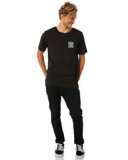 BLACK MENS CLOTHING HURLEY TEES - AO8798010