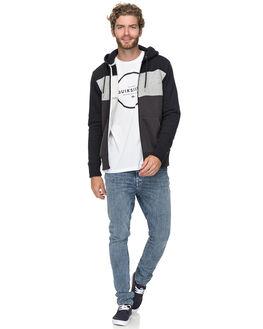 BLACK MENS CLOTHING QUIKSILVER JUMPERS - EQYFT03827KVJ0