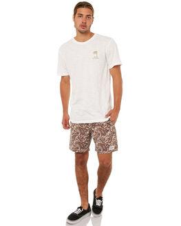 WHITE MENS CLOTHING RHYTHM TEES - JAN18M-PT09WHT