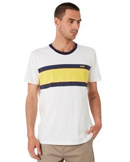 RACER STRIPE MENS CLOTHING LEE TEES - 601913LU4