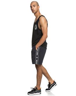 BLACK MENS CLOTHING DC SHOES SHORTS - EDYWS03115KVJ0
