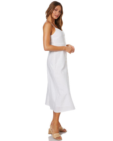 WHITE WOMENS CLOTHING NUDE LUCY DRESSES - NU24129WHT