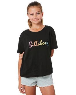 BLACK KIDS GIRLS BILLABONG TEES - 5581001BLK