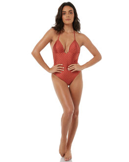 RUST WOMENS SWIMWEAR SWELL ONE PIECES - S8171350RST