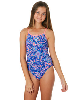 BLUE MULTI KIDS GIRLS ZOGGS SWIMWEAR - 5448192BLMLT