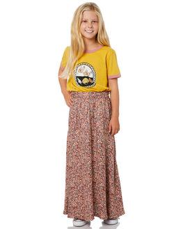 TIGANI FLORAL KIDS GIRLS THE HIDDEN WAY SHORTS + SKIRTS - H6203471TIGFL