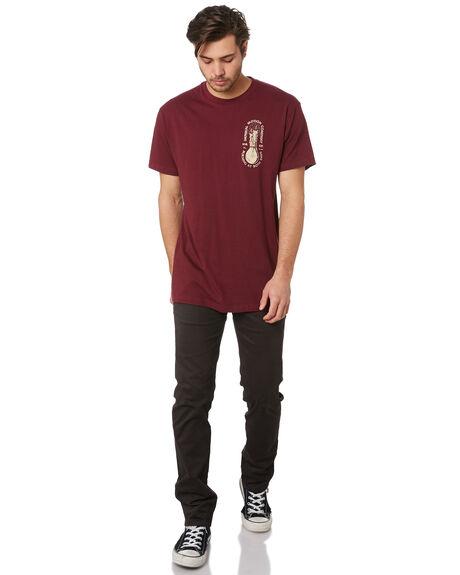 MAROON MENS CLOTHING IMPERIAL MOTION TEES - 201901002049MARON