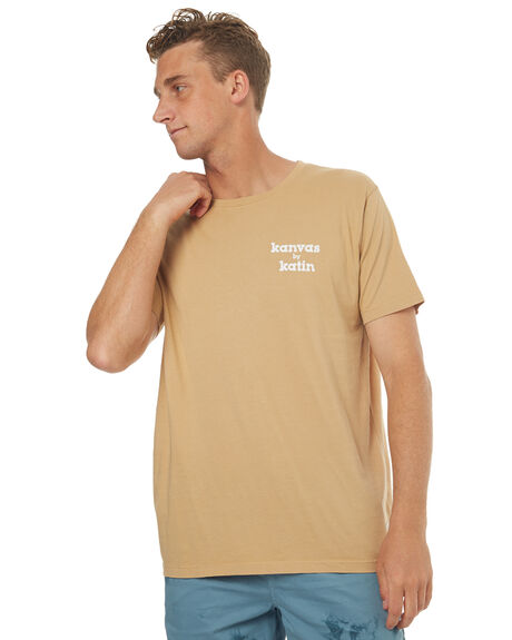 TAN MENS CLOTHING KATIN TEES - TSSSKBL17TAN