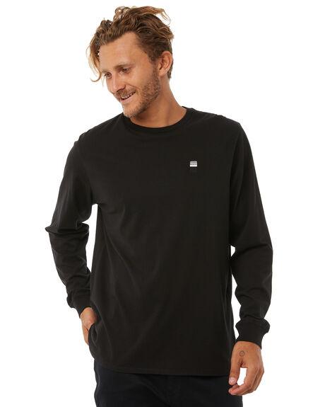 BLACK MENS CLOTHING DEPACTUS TEES - D5183100BLACK