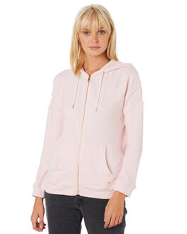 BLUSH PINK WOMENS CLOTHING VOLCOM JUMPERS - B3111802BUP