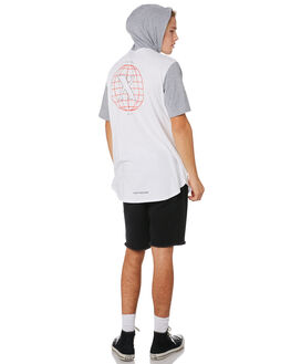 WHITE MENS CLOTHING ST GOLIATH TEES - 4341039WHT