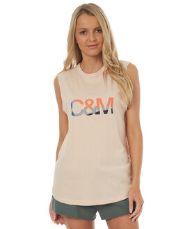 ROSEWATER WOMENS CLOTHING CAMILLA AND MARC SINGLETS - QCMT6685ROSE