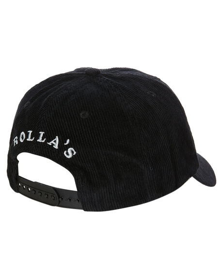 BLACK MENS ACCESSORIES ROLLAS HEADWEAR - 16076100