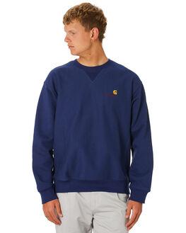 METRO BLUE MENS CLOTHING CARHARTT JUMPERS - I026338S0