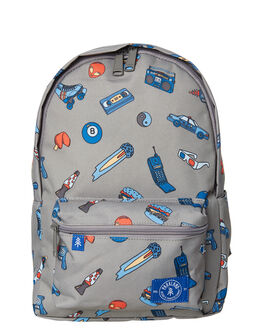 PATCHES RETRO KIDS BOYS PARKLAND BAGS + BACKPACKS - 20020-00254