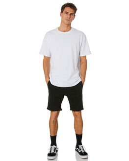 BLACK MENS CLOTHING RUSTY SHORTS - WKM0930BLACK