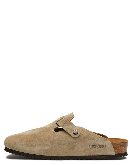 TAUPE WOMENS FOOTWEAR BIRKENSTOCK FLATS - 560771WTAUPE