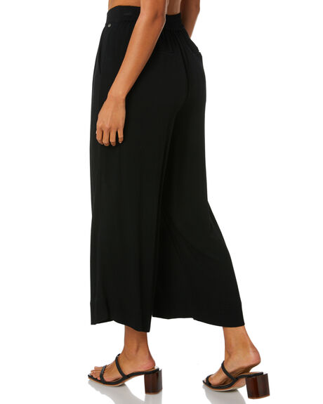 BLACK WOMENS CLOTHING RUSTY PANTS - PAL1192BLK