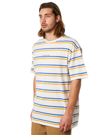 GOLD STRIPE OUTLET MENS RPM TEES - 8PMT01AGSTRP