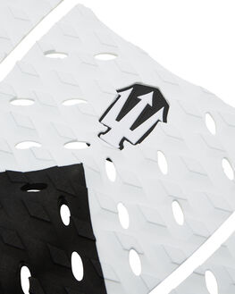 BLACK WHITE BOARDSPORTS SURF FAR KING TAILPADS - 1204BLKWH