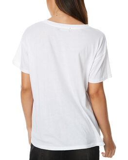 WHITE WOMENS CLOTHING MINKPINK TEES - MP1611007WHT