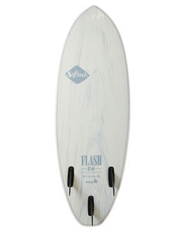 WHITE MARBLE BOARDSPORTS SURF SOFTECH SOFTBOARDS - FEGII-WHM-050WHIM