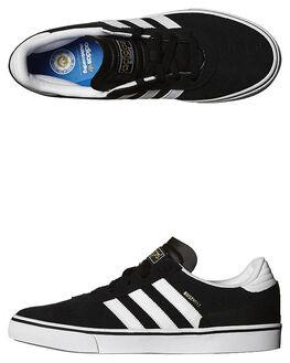 BLACK WHITE BLACK MENS FOOTWEAR ADIDAS SKATE SHOES - G65824BWB