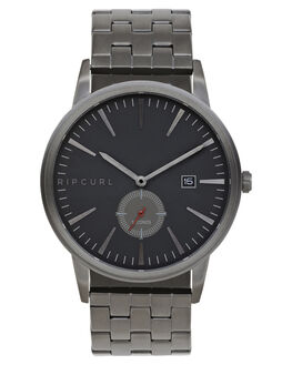 GUNMETAL MENS ACCESSORIES RIP CURL WATCHES - A32200036