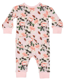 PALE PINK KIDS BABY ROCK YOUR BABY CLOTHING - BGB1963-SCPPNK
