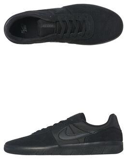 BLACK BLACK MENS FOOTWEAR NIKE SKATE SHOES - AH3360-004