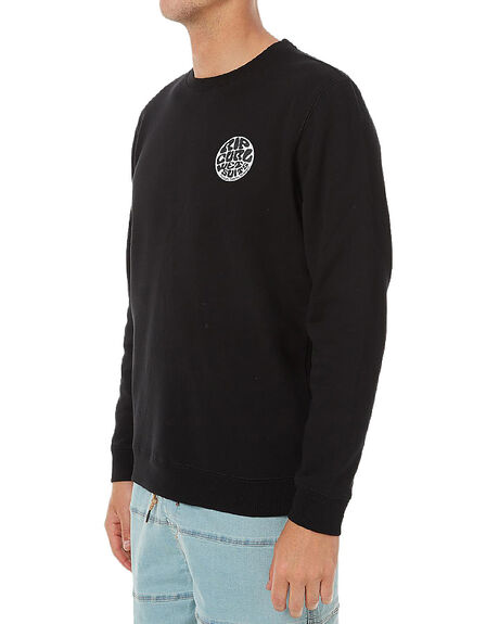 BLACK MENS CLOTHING RIP CURL JUMPERS - CFEHW10090