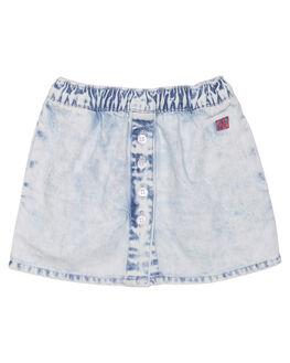 ACID BLUE KIDS TODDLER GIRLS MUNSTER KIDS SKIRTS - MM171SK02ACD