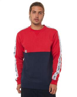 DARK INDIGO MENS CLOTHING DC SHOES JUMPERS - EDYFT03351BYJ0