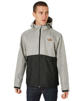 MONUMENT GREY MENS CLOTHING THE NORTH FACE JACKETS - NF0A33Q6YJL