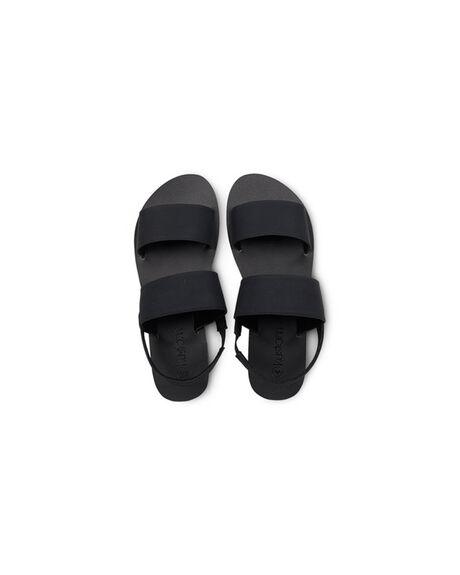 BLACK WOMENS FOOTWEAR KUSTOM FASHION SANDALS - KS-4692216-BLK