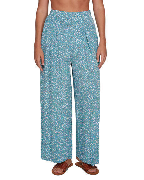 OCEAN TEAL WOMENS CLOTHING BILLABONG PANTS - BB-6507939M-OTL