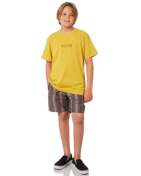 CARAMEL KIDS BOYS RUSTY TOPS - TTB0664CAL