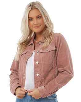 BLUSH WOMENS CLOTHING ROLLAS JACKETS - 12571BLUSH