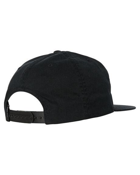 BLACK MENS ACCESSORIES VOLCOM HEADWEAR - D5541801BLK