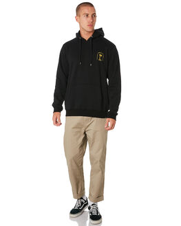 BLACK MENS CLOTHING SWELL JUMPERS - S5193444BLACK