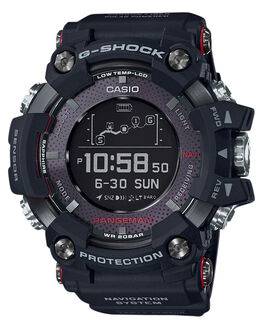 BLACK MENS ACCESSORIES G SHOCK WATCHES - GPRB1000-1DBLK