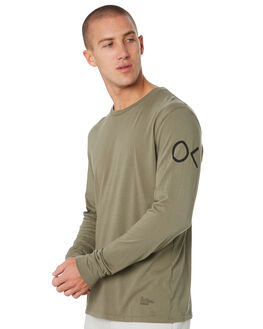 OLIVE MENS CLOTHING OUTERKNOWN TEES - 12154201OLV