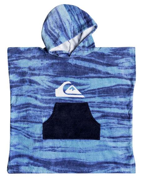 SKY BLUE KIDS BOYS QUIKSILVER TOWELS - EQKAA03014BGC0