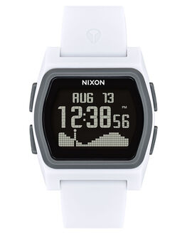 WHITE CHARCOAL WOMENS ACCESSORIES NIXON WATCHES - A1236-2015-00WHTCH