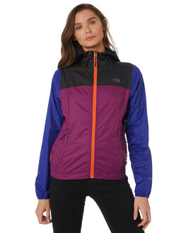PHILOX PURPLE WOMENS CLOTHING THE NORTH FACE JACKETS - NF0A3SV5AJN